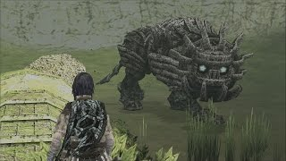 Shadow of the Colossus: Cenobia Boss Fight - 14th Colossus (PS3 1080p)