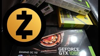 Zcash mining test: GTX 10 Series Cards (1050, 1060, 1080 Ti)