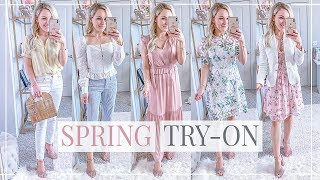 WHAT'S NEW IN MY WARDROBE | SPRING OUTFITS + TRY-ON HAUL | Shannon Sullivan
