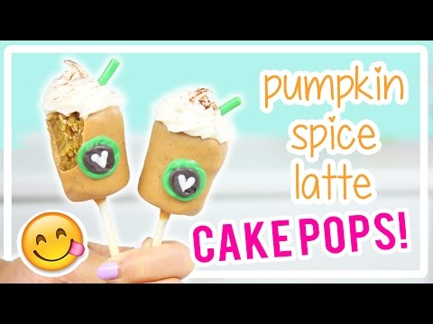 How to Make Pumpkin Spice Latte Cake Pops!