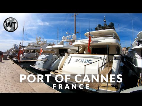Port of Cannes (Yacht Festival), Film Festival - 🇫🇷 France - 4K Walking Tour