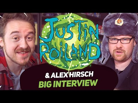 Alex Hirsch & Justin Roiland | Big interview for BigFest Russia (18+)
