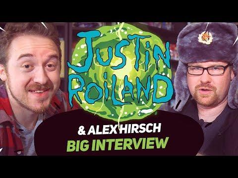 Alex Hirsch & Justin Roiland  Big  for BigFest Russia 18