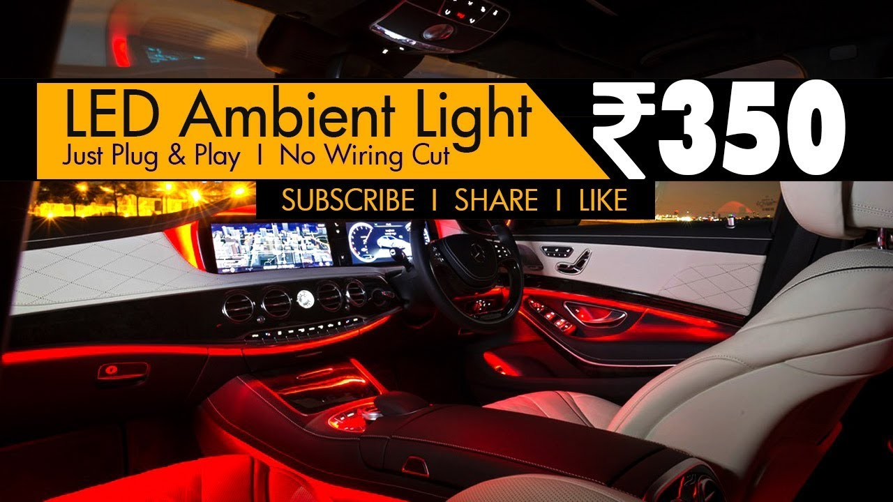 Led Car Ambient Lights Full Review