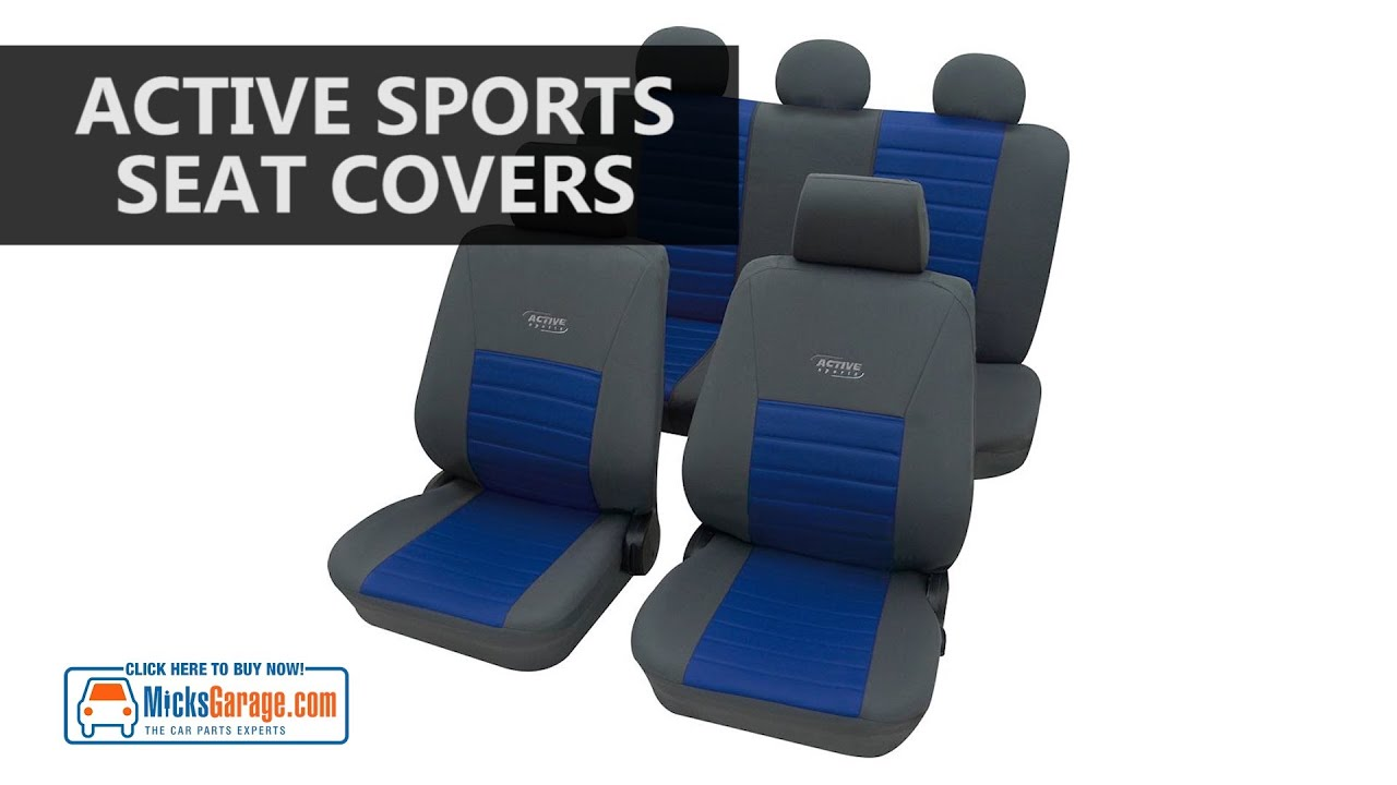 Active Sport Car Seat Covers From MicksGarage