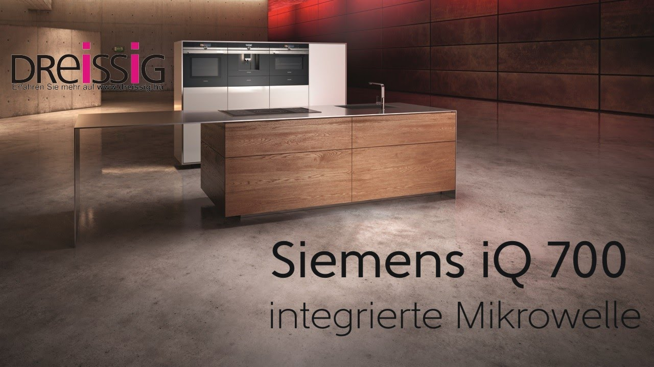 siemens backofen mit integrierter mikrowelle youtube. Black Bedroom Furniture Sets. Home Design Ideas