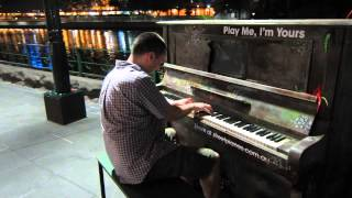 Piano Pete - Hallelujah I Love Her So - Melbourne Street Pianos