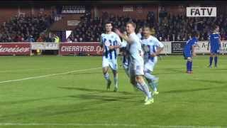 afc wimbledon vs coventry city 1 3 fa cup first round proper 2013 14 highlights