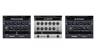 Plug-in Tricks - Eventide Blackhole, MangledVerb, and UltraTap