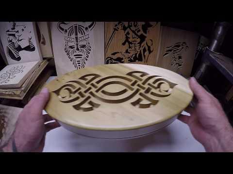 Tribal scroll saw