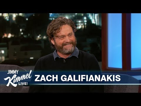 Zach Galifianakis's Son Asked Him the Weirdest Anatomy Question While He Was Peeing