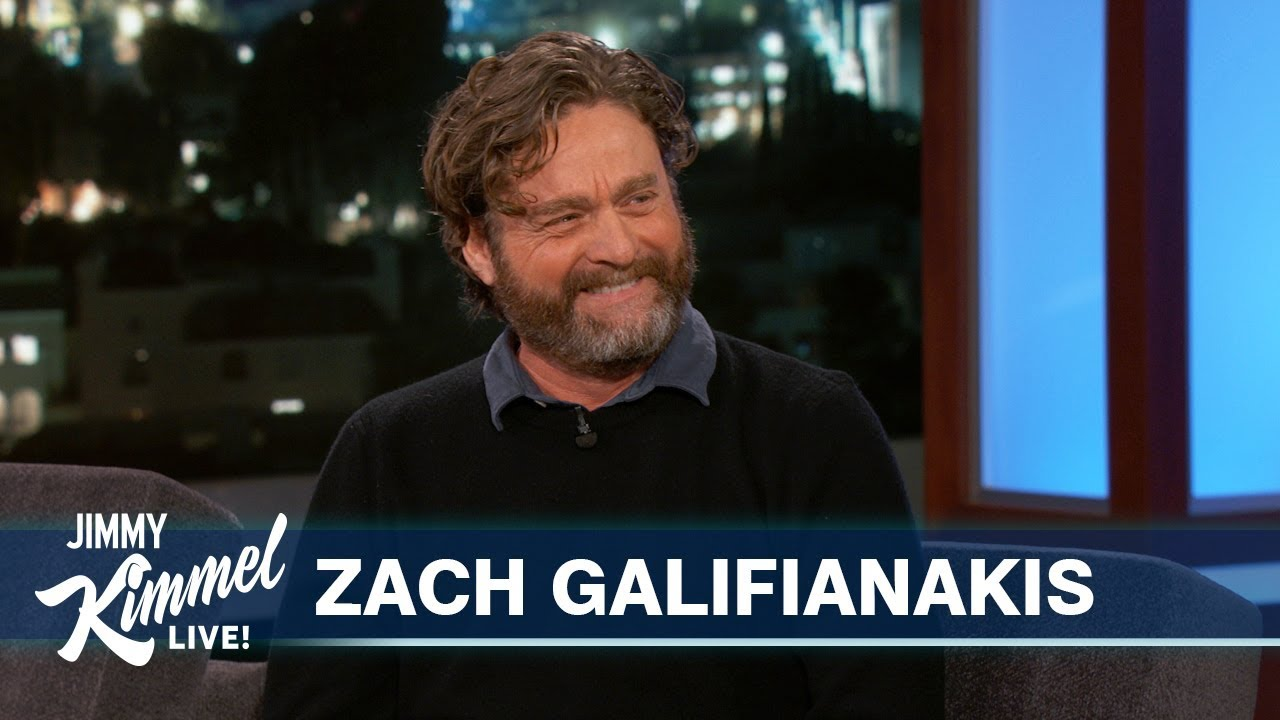 Download Zach Galifianakis Reveals Hilarious Story About His Son