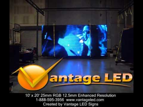 vantage led signs avatar movie trailer on led sign youtube. Black Bedroom Furniture Sets. Home Design Ideas