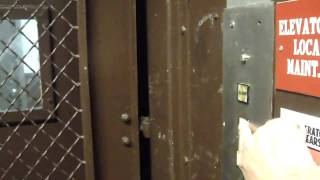 FAST 1969 Montgomery Hydraulic Freight elevator @ Monroeville Mall Monroeville PA