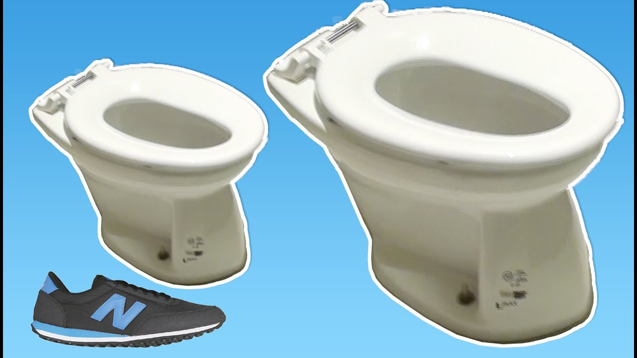 Smallest Toilet in the world for Kids in Tokio Japan - YouTube