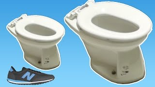 Smallest Toilet in the world for Kids in Tokio Japan
