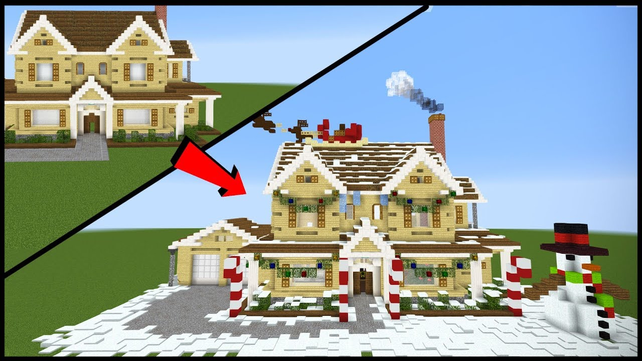 Minecraft Christmas Houses.12 Ways To Make Your Minecraft House More Festive