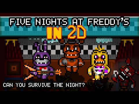 Five Nights at Freddy's Animated 2D - Interactive!