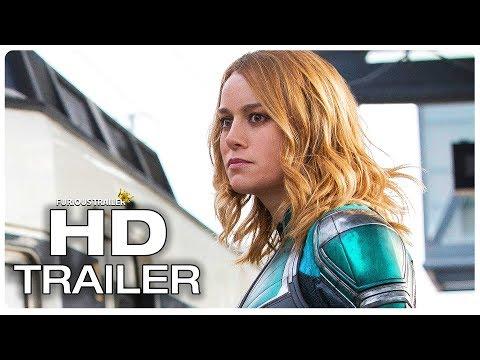 CAPTAIN MARVEL Arrives On Earth Trailer (NEW 2019) Brie Larson Superhero Movie HD