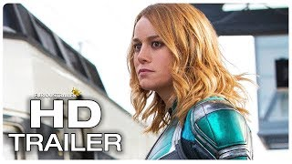 CAPTAIN MARVEL Arrives On Earth Trailer (NEW 2019) Brie Larson Superhero Movie HD