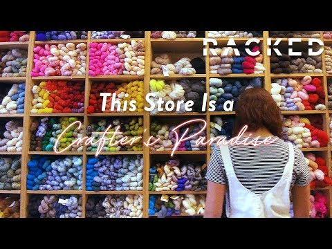 Knitters Will Love this NYC Yarn Store | Just Browsing | Racked