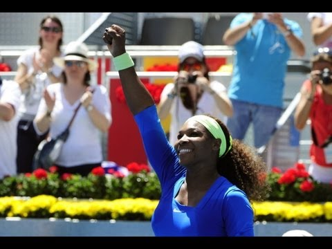 2012 Mutua Madrid Open Final WTA Highlights