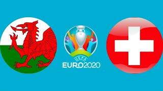 Футбол Евро 2020 Уэльс Швейцария тайм 1 Чемпионат Европы по футболу 2020