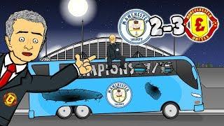 😭2-3! NO TITLE PARTY!😭 Man City vs Man Utd (Parody Goals Highlights 2017/2018)