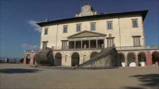 Villa Poggio a Caiano - frescoes by Andrea del Sarto, Franciabigio, Pontormo, Allori, Bronzino