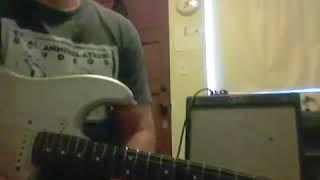 Blues Senior 22 watt 2 6v6 clean demo