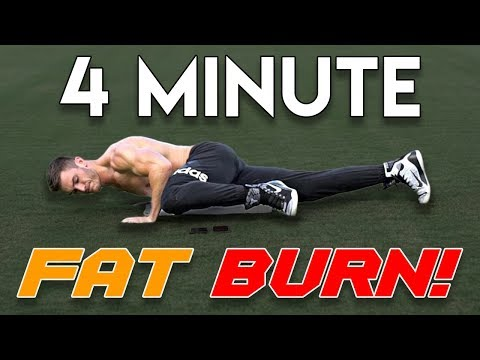 V Shred | 4 Minute Follow Along Fat Burning Workout