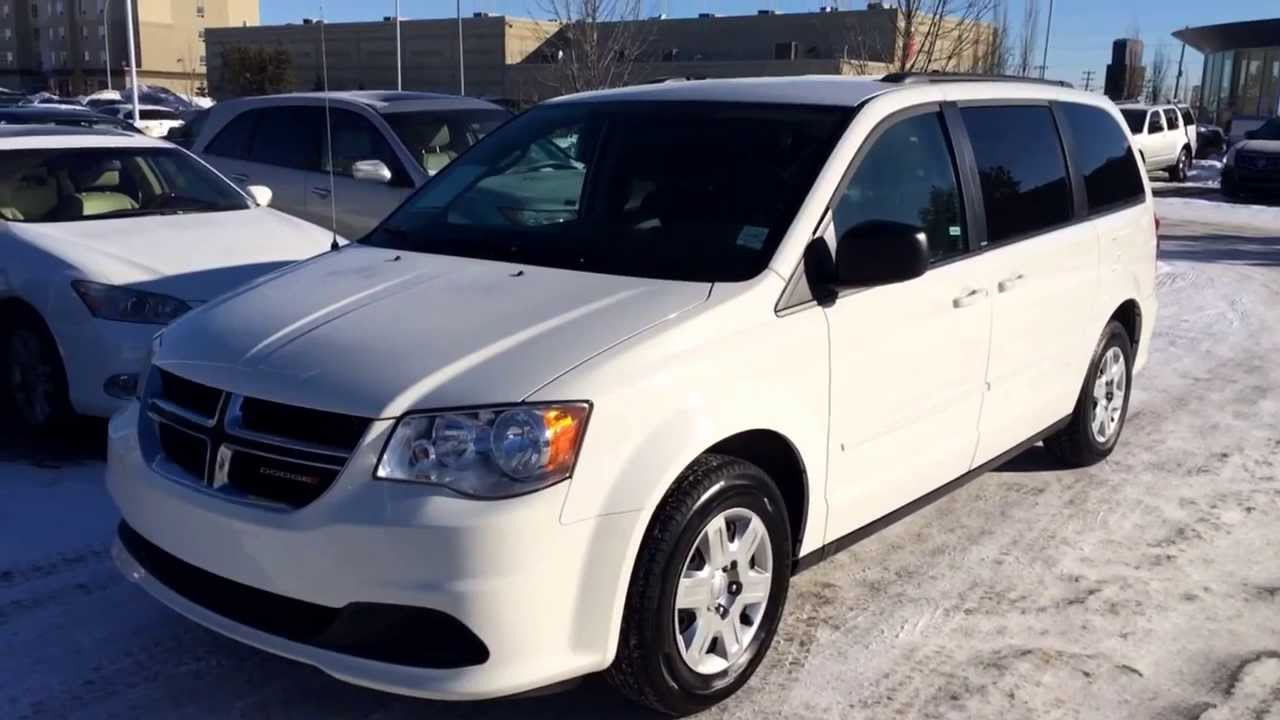 pre owned white 2012 dodge grand caravan crew flexible fuel capability youtube. Black Bedroom Furniture Sets. Home Design Ideas