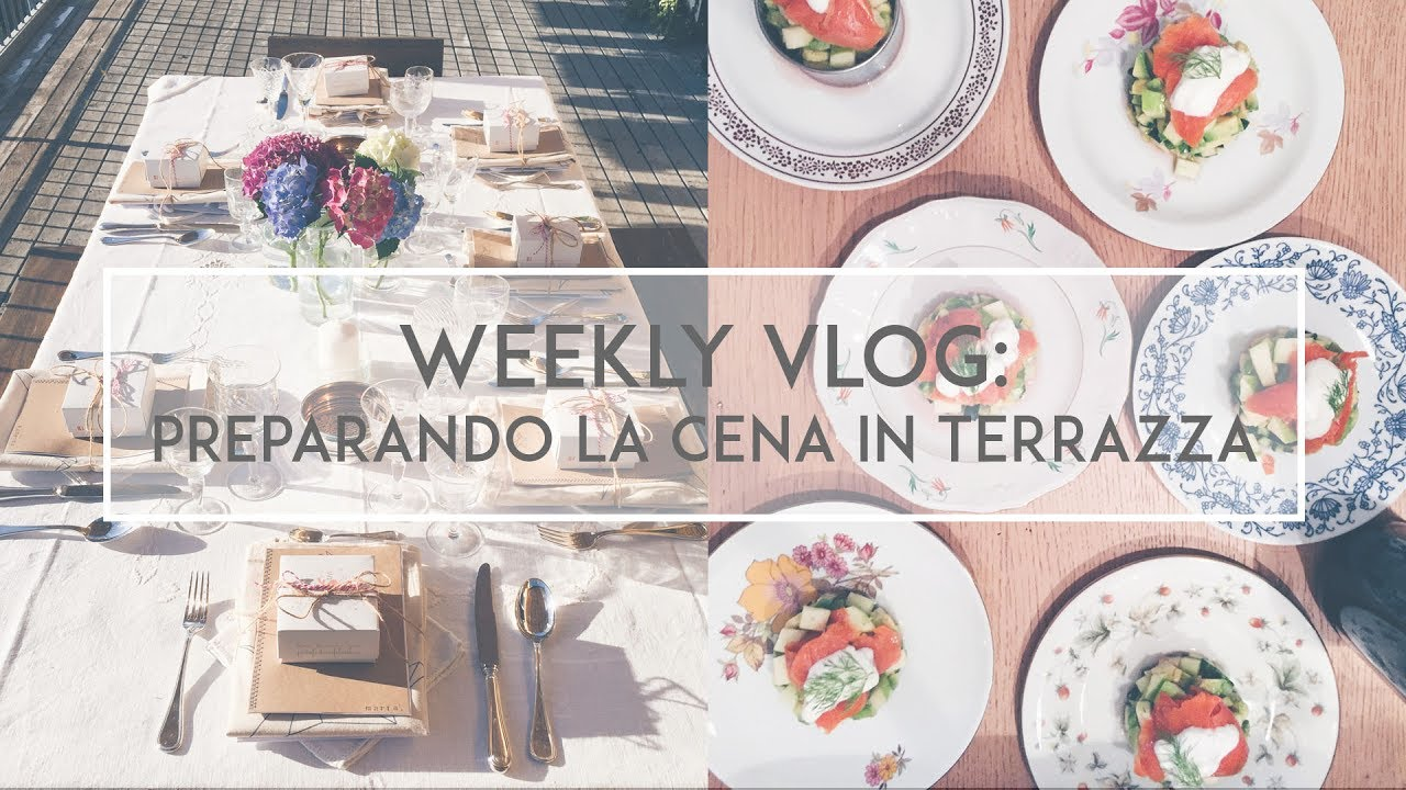 Weekly vlog: i preparativi per la prima \