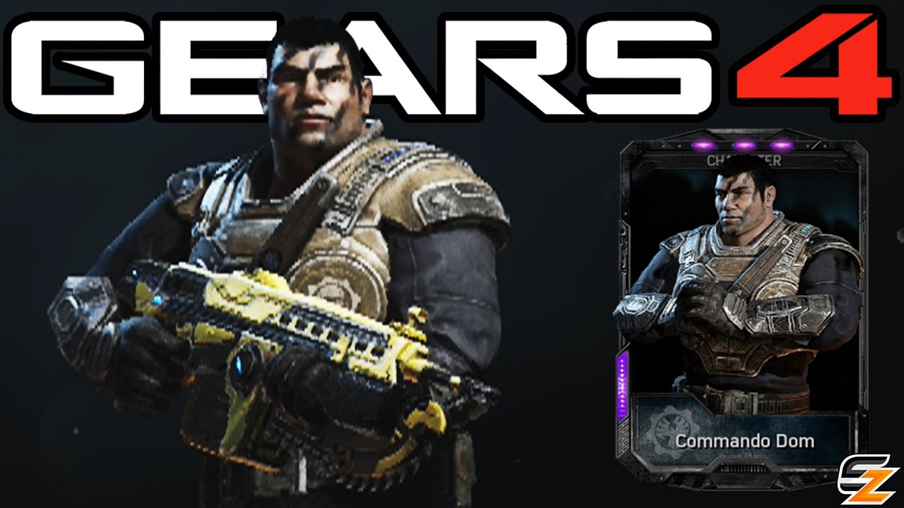 Gears Of War 4 Commando Dom Multiplayer Gameplay Gears Of War