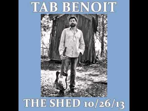 """Tab Benoit - """"Shelter Me"""" 10/26/13 Audio Only"""