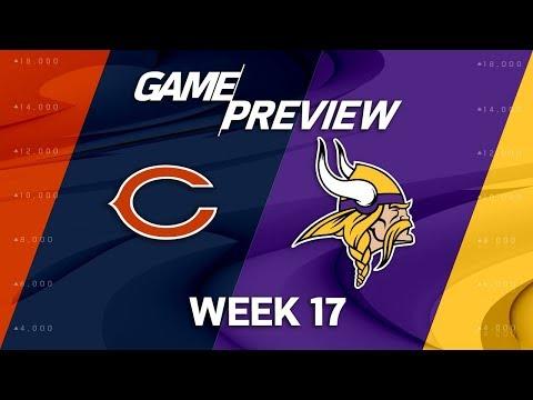 Chicago Bears vs. Minnesota Vikings | NFL Week 17 Game Preview | NFL Playbook