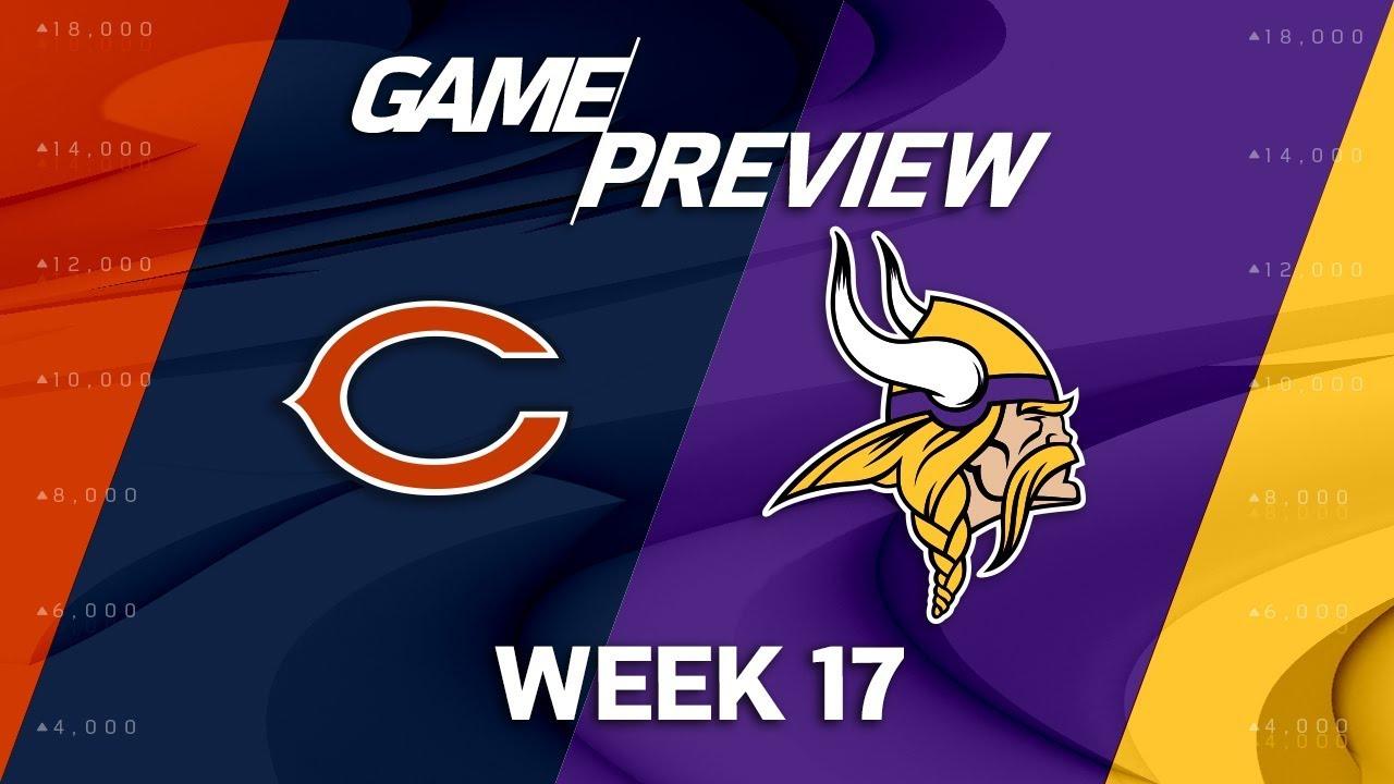 Kết quả hình ảnh cho Chicago Bears vs Minnesota Vikings preview
