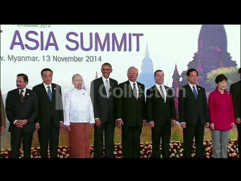 MYANMAR: EAST ASIA SUMMIT LEADERS GROUP PHOTO