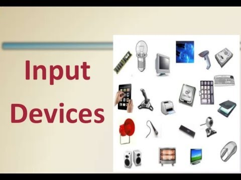 What Is Input Device Types Of Input Devices Computer Devices Youtube