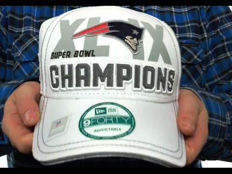 f3c27920 Patriots 'SUPER BOWL XLIX CHAMPS' Hat by New Era - YouTube