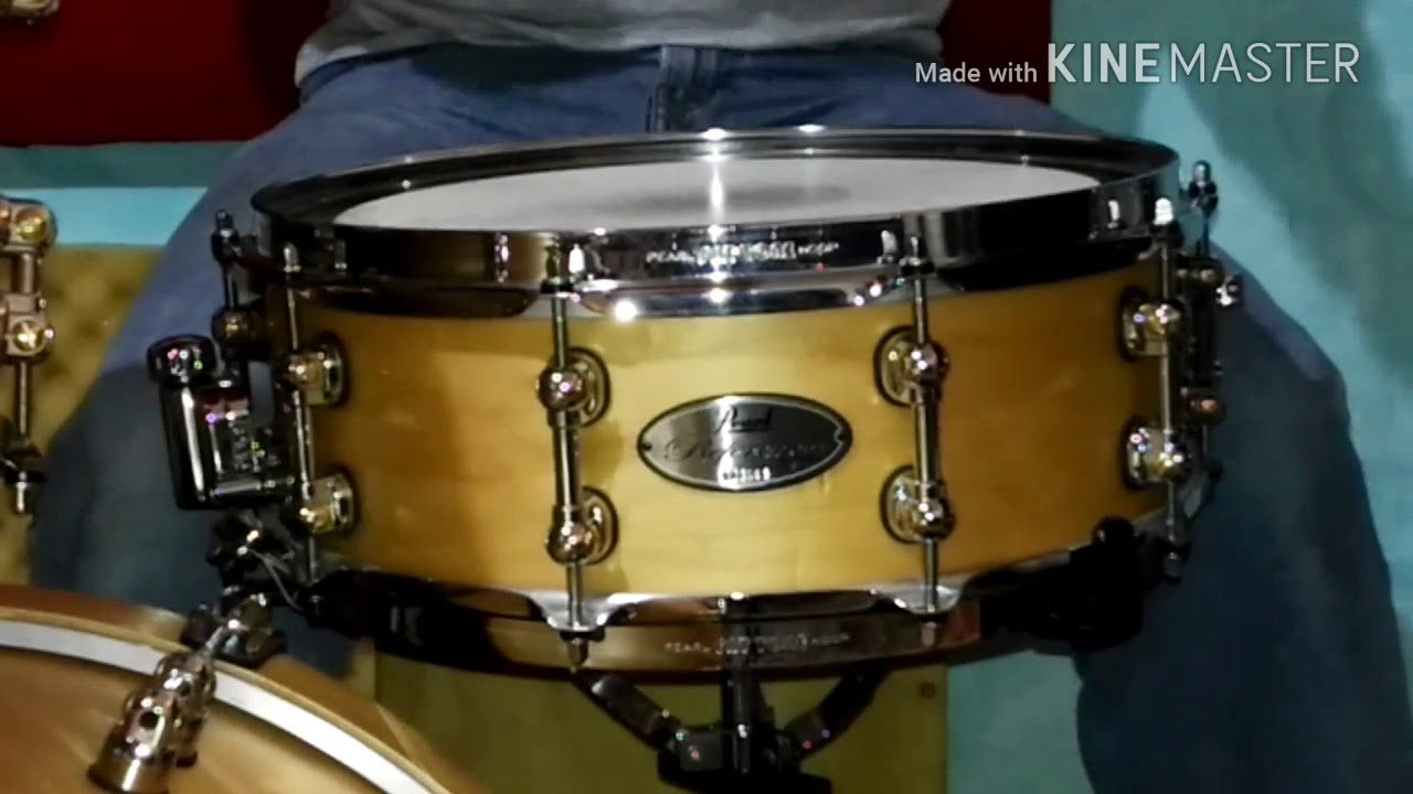 pearl reference pure snare drum 5x14 youtube. Black Bedroom Furniture Sets. Home Design Ideas