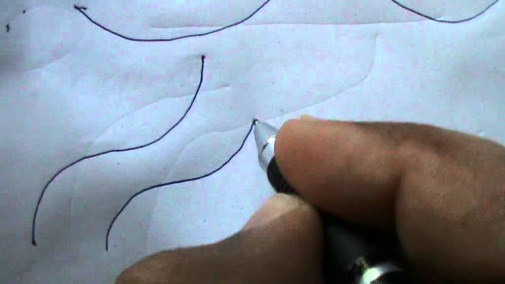 Drawing Using Curved Lines : How to shade with a pencil u step by drawing demonstration