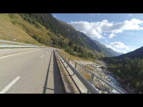 Swiss Alps downhill