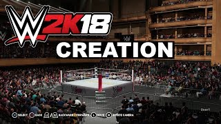 WWE 2K18 WWE2KDev Spotlight Episode 7: Creation Suite