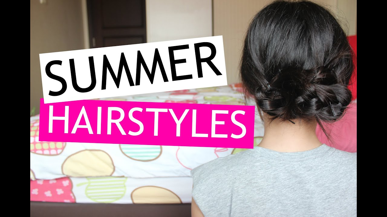 easy summer hair styles 5 amp easy summer hairstyles insipierd 3864 | maxresdefault