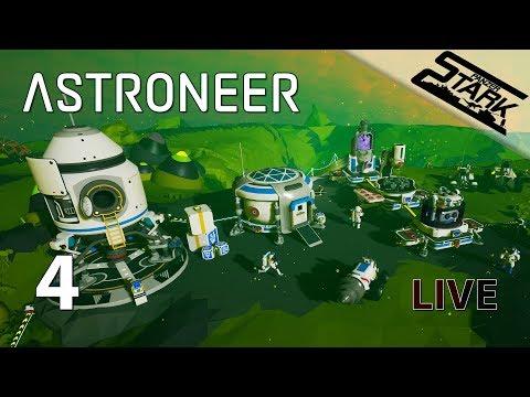 Astroneer - 4.Rész (Gáz gyűjtő körút) - Stark LIVE