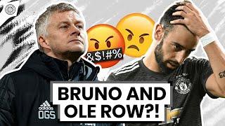 Ole & Bruno ARGUE During Brighton Match! | Man United News