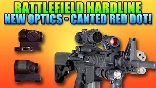 All New Sights In Battlefield Hardline! Canted Red Dot & Green Dot Sight.