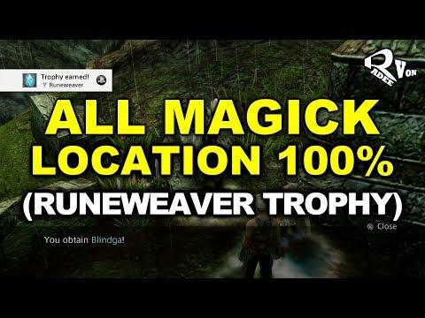 Final Fantasy XII The Zodiac Age - All Magick Location Guide (Runeweaver Trophy)