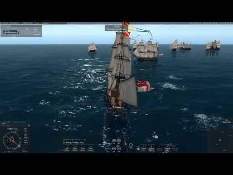 Naval Action: 12 Pirates vs 25 British at Kingston Port Royale / Huge Battle!